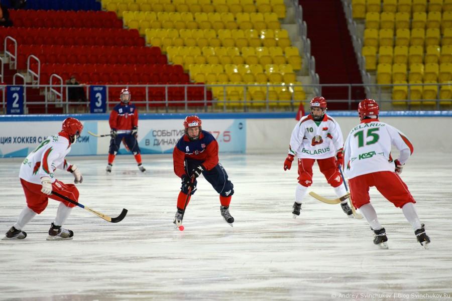 Чемпионат мира по хоккею с мячом — 2015. Матч за 5-е место: Беларусь - Норвегия
