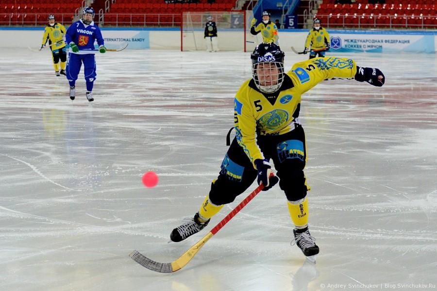 Чемпионат мира по хоккею с мячом — 2015. Матч за 3-е место: Финляндия - Казахстан