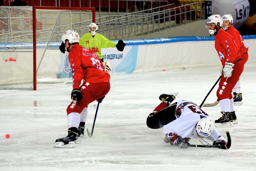 Чемпионат мира по хоккею с мячом — 2015. Матч за 7-е место: Латвия - США