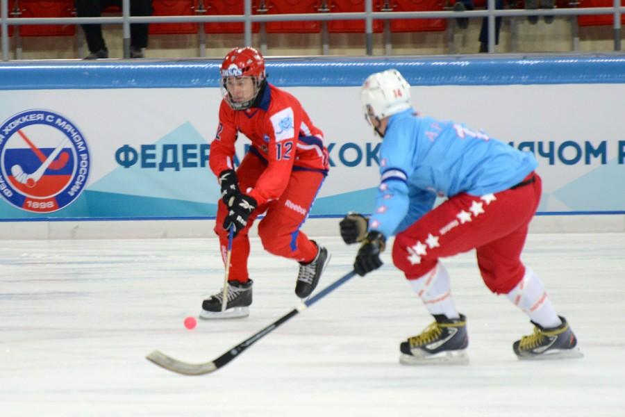 Чемпионат мира по хоккею с мячом — 2015. Матч Россия - США