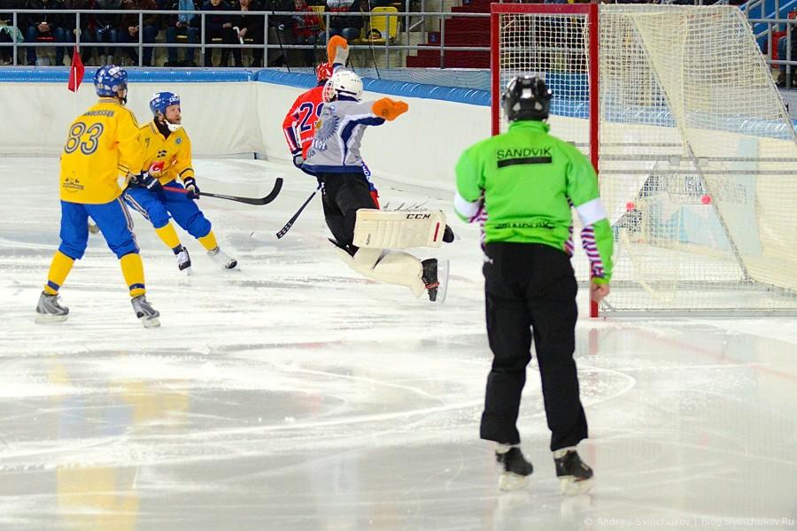 Чемпионат мира по хоккею с мячом — 2015. Матч за 1-е место: Швеция - Россия