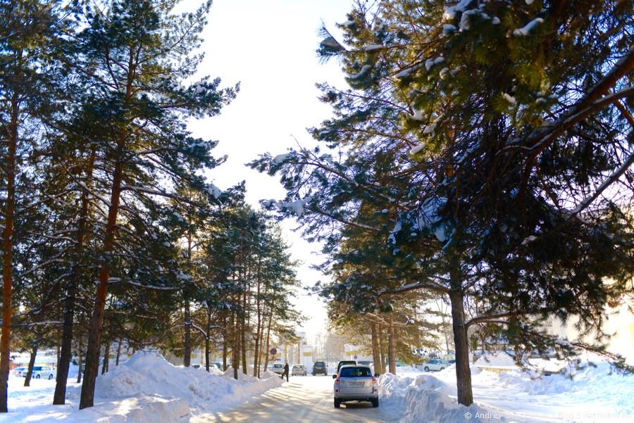 Зима в Хабаровске