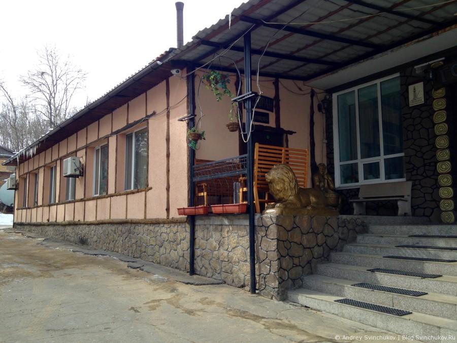 Кафе Анталия в пригороде Хабаровска