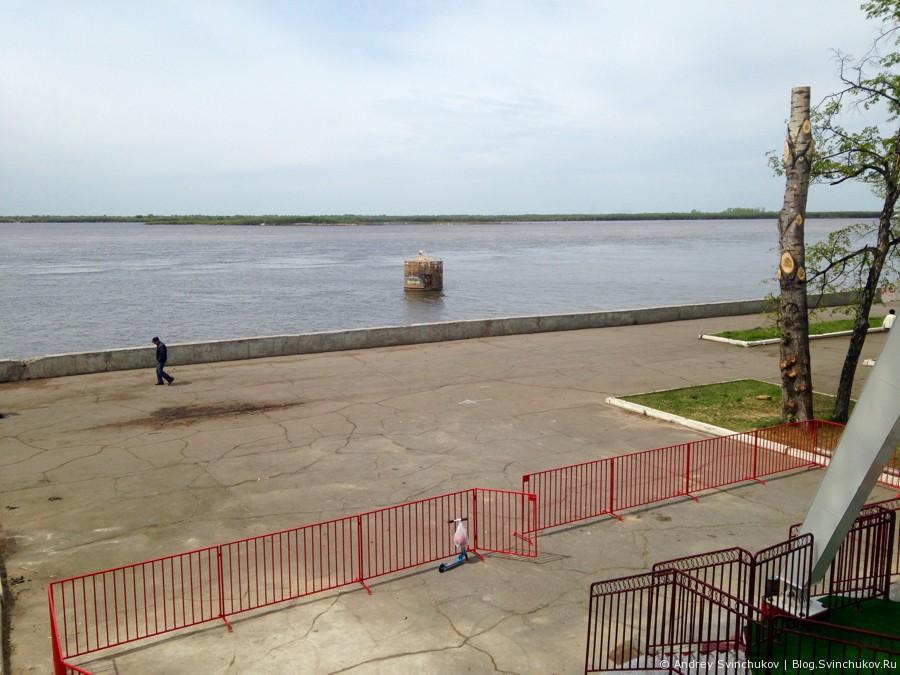 Колесо обозрения в Хабаровске и что с него можно увидеть