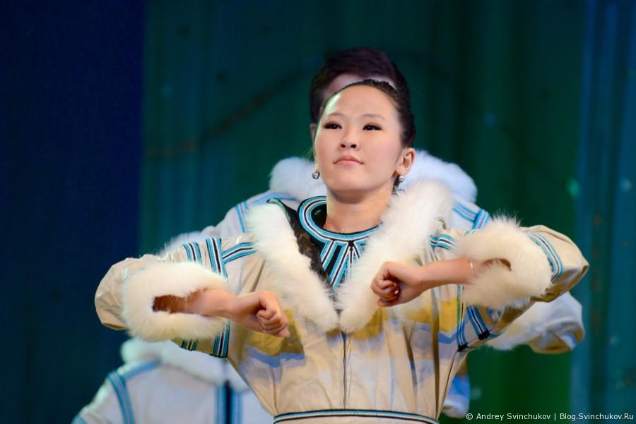Этнофольклорное представление «Легенда о белом олене»