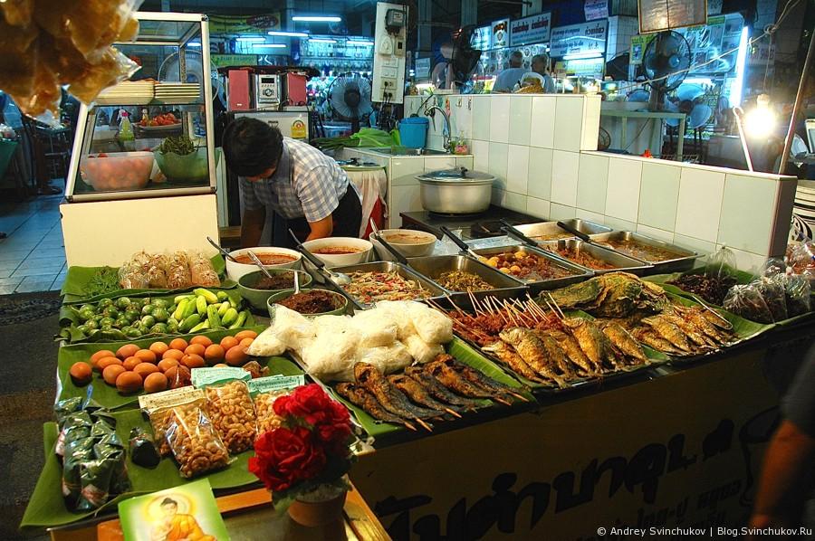 Уличные рынки Таиланда