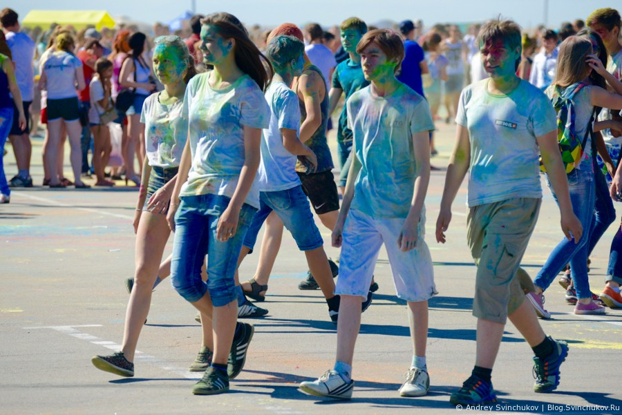 Фестиваль аватаров. Краски Холи.