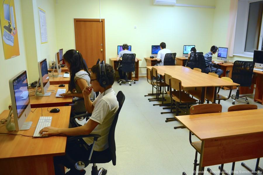 Школа-интернат в городе Якутске