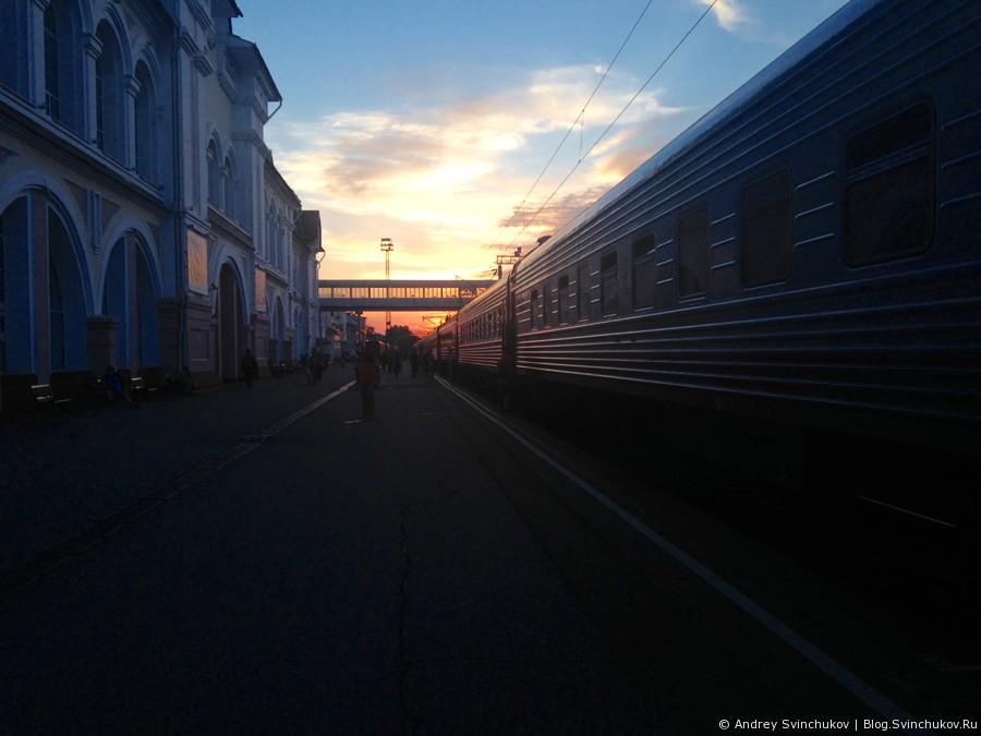 На поезде из Хабаровска в Комсомольск-на-Амуре и обратно