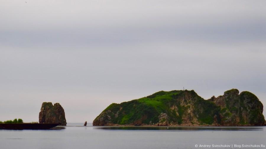 Японское море в районе поселка Киевка