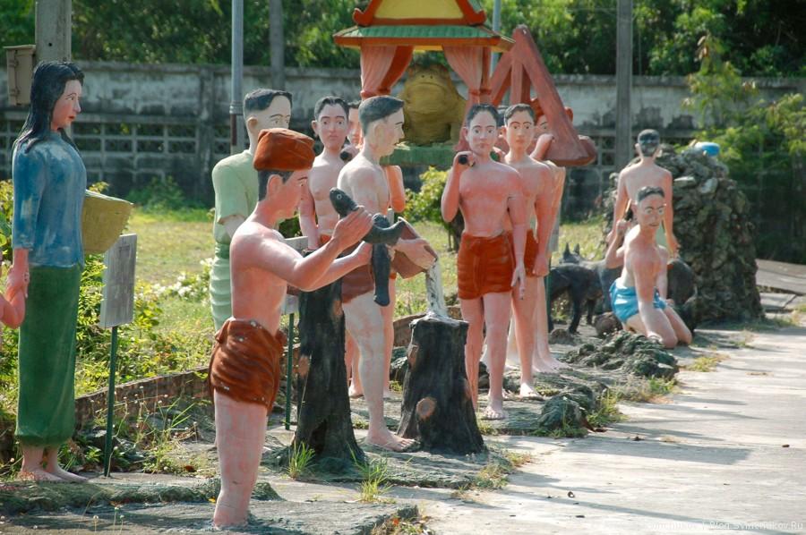 Тайский храм. Хорошее