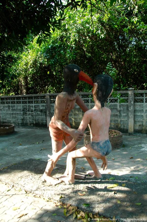 Тайский храм. Плохое. 18+