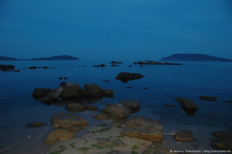 Отдых на море и небольшое авиашоу в заливе Владимира
