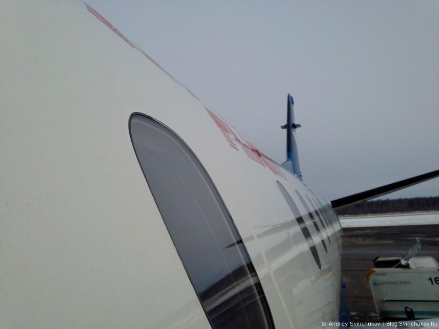 """Полет с авиакомпанией """"Полет"""" на SAAB 340"""