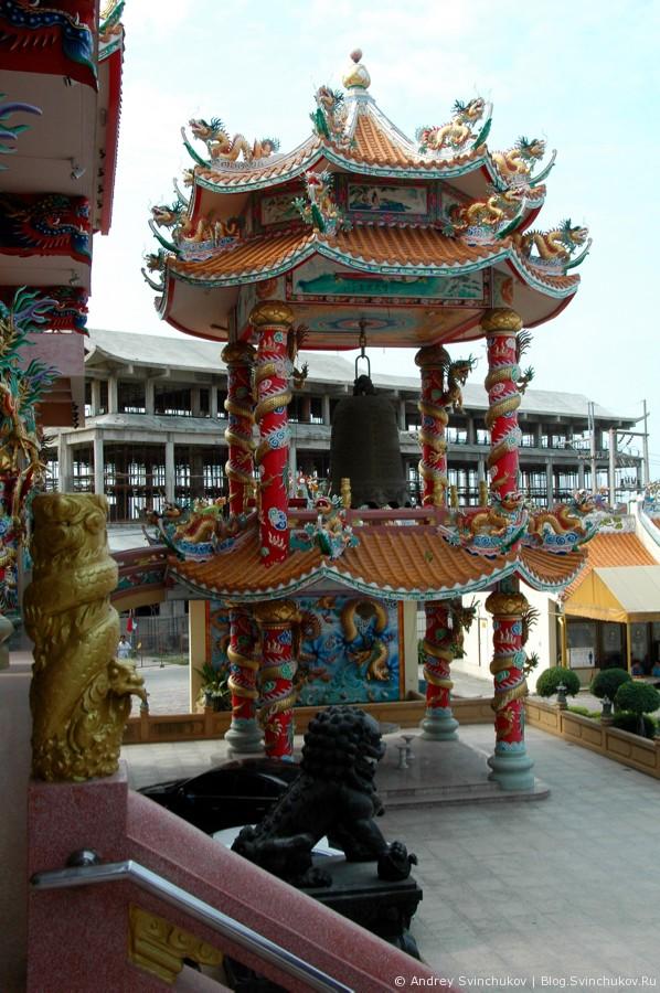 Китайский храм в Таиланде
