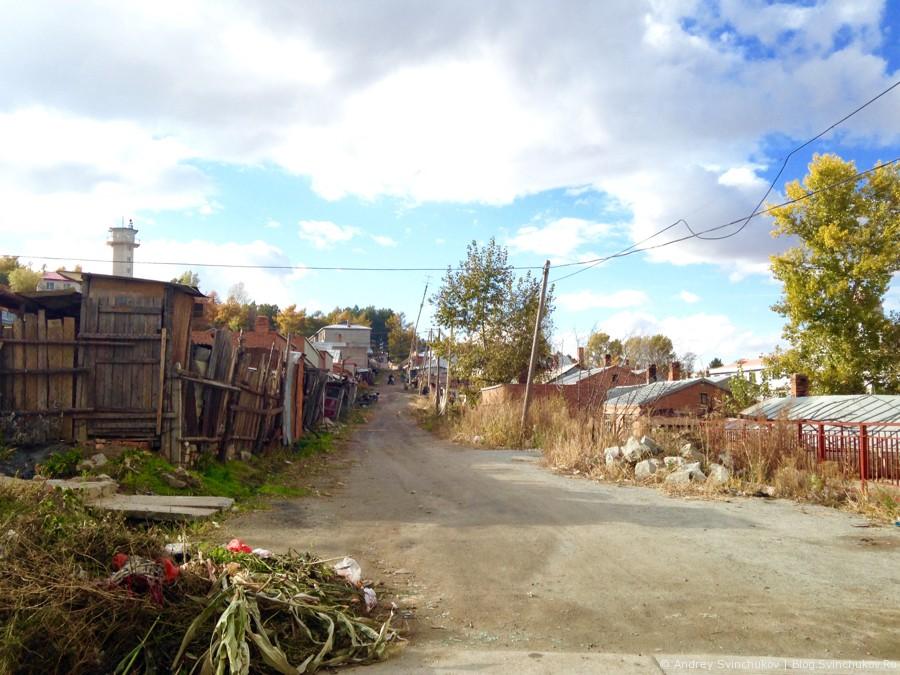 По одной из улиц Фуюаня