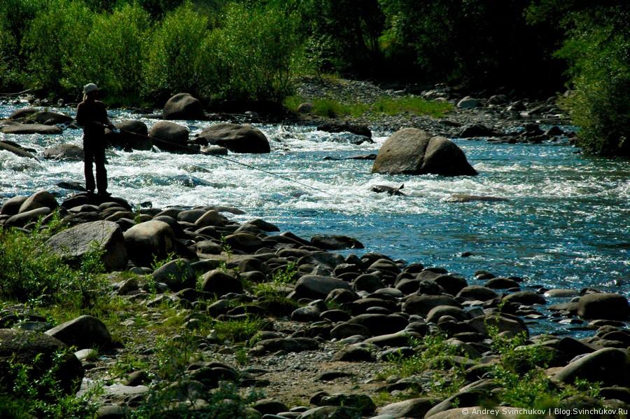 Река Ихе-Ухгунь в Нилова Пустынь
