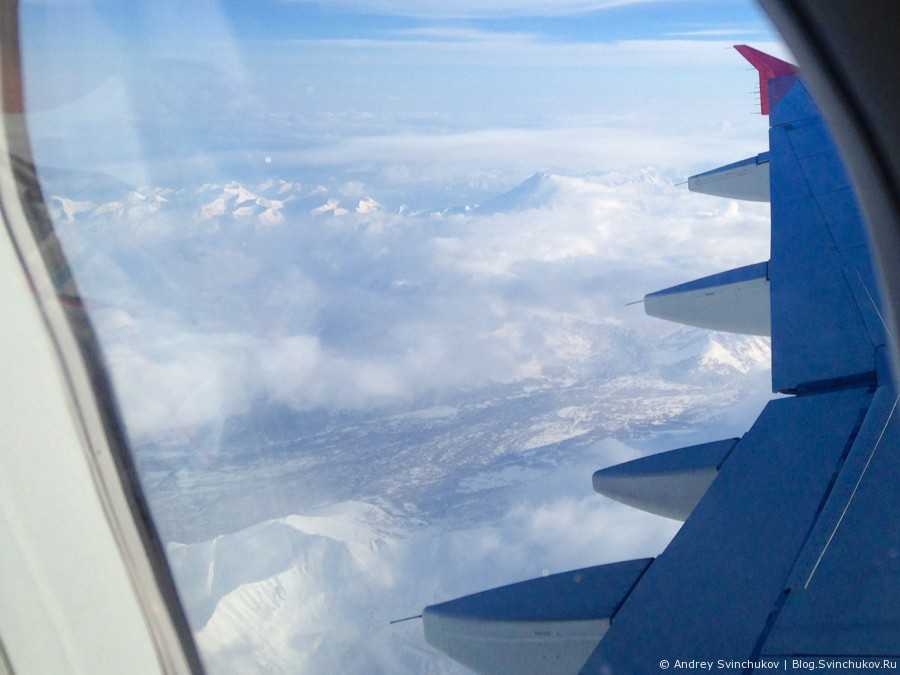Зимний полет на Камчатку и обратно с авикомпанией Аврора