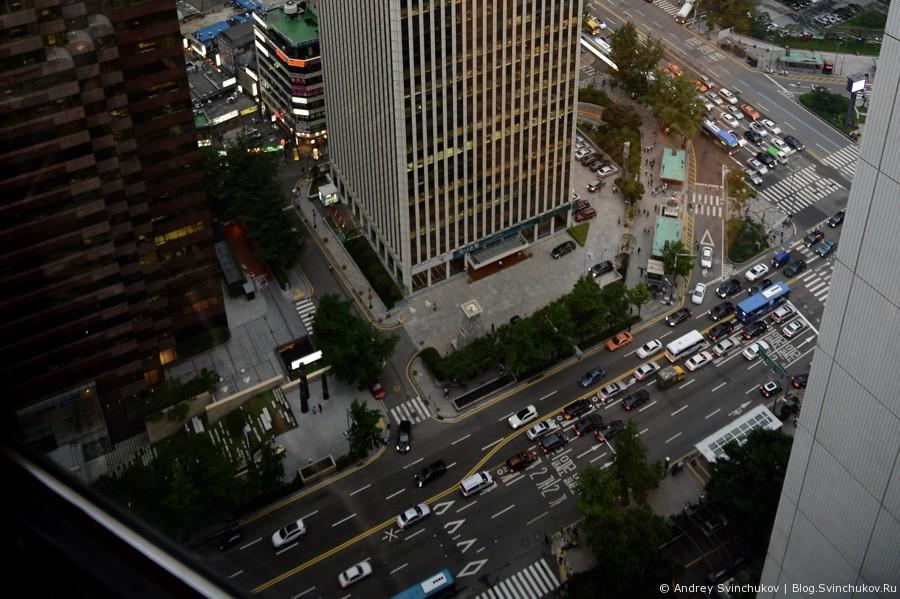 Сеул с высоты