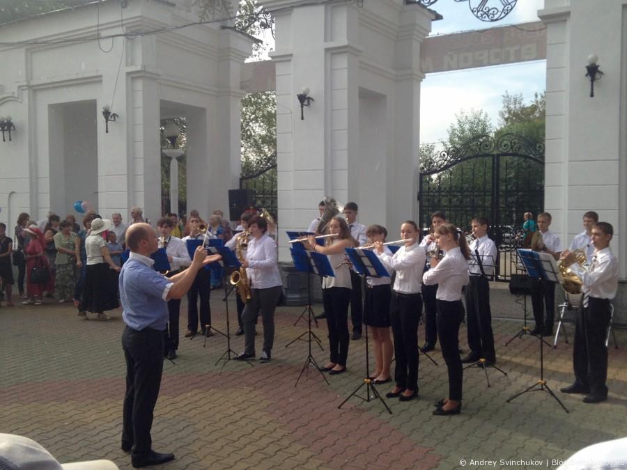 Акция-концерт в День окончания Второй мировой войны