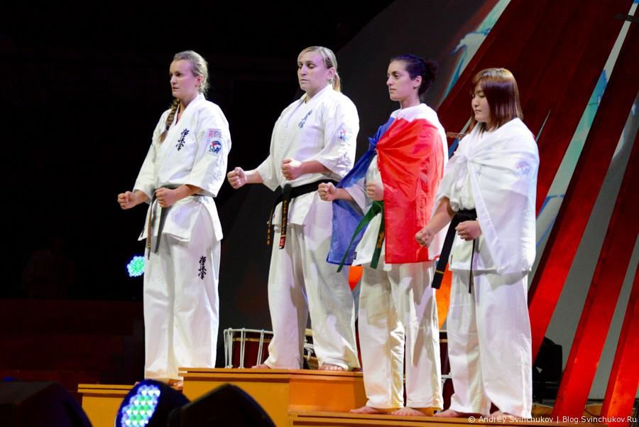Чемпионата мира по киокусинкай карате. Финал. Женщины