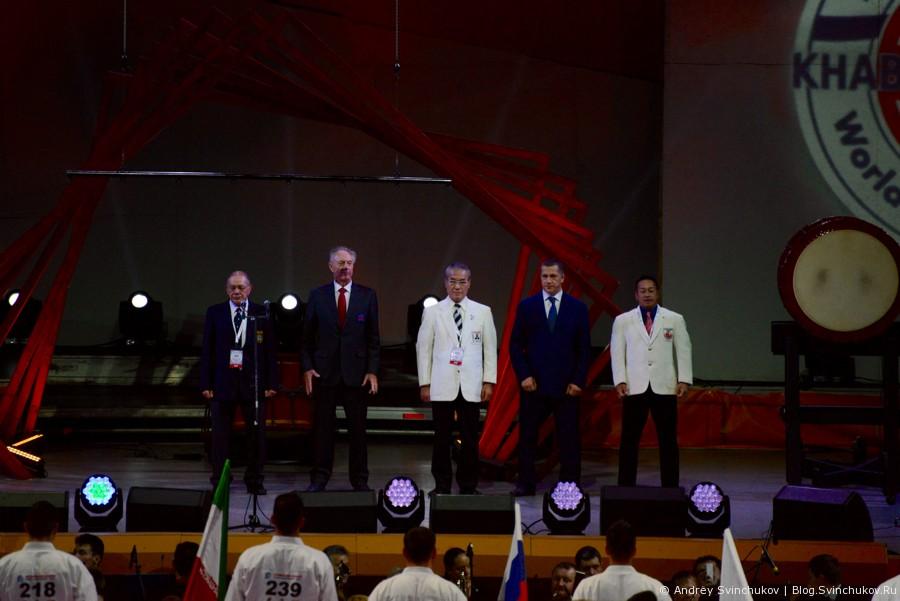 Фотографии с церемонии открытия KWU Championship Khabarovsk - 2015