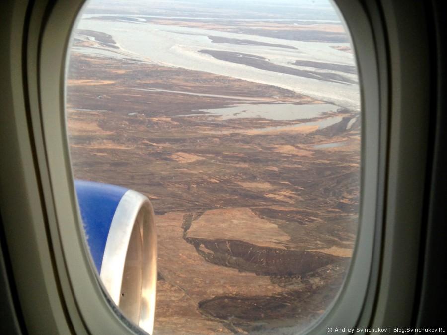 Полет с Трансаэро из Москвы в Хабаровск