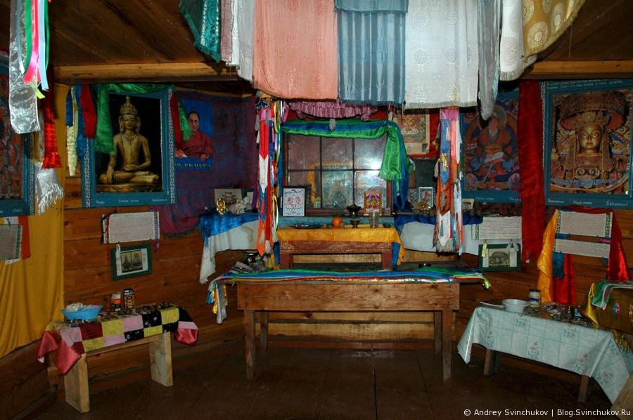 Буддийский храм (дацан) в Нилова Пустынь