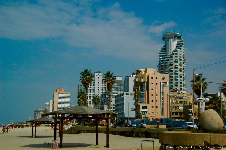 Тель-Авив каким я его увидел в первый раз