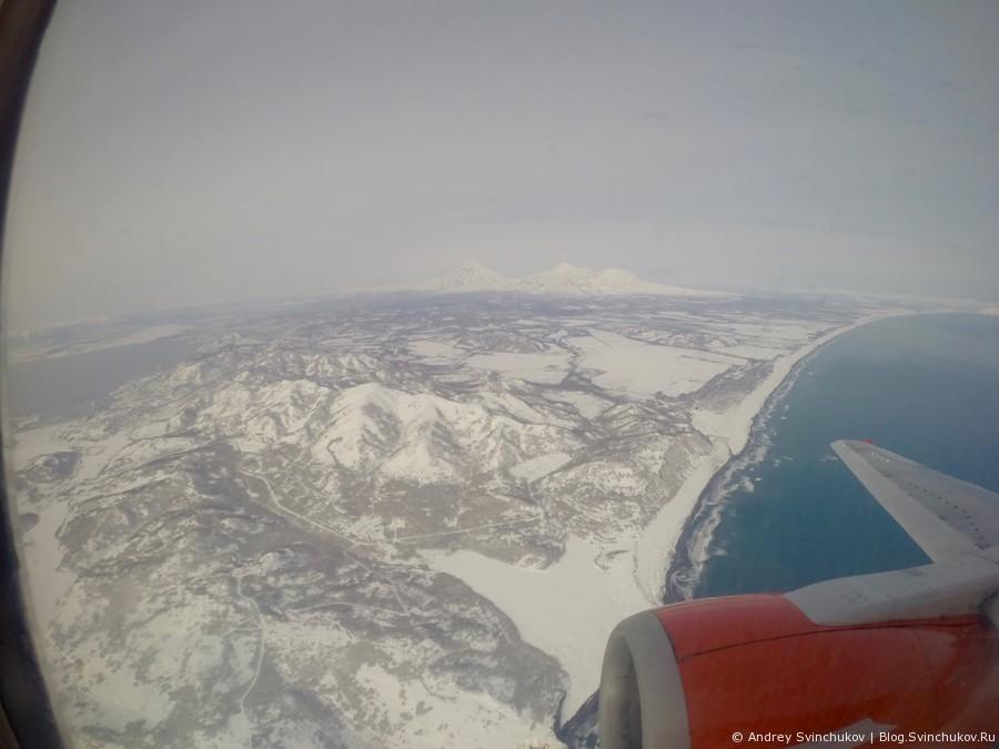 Камчатка с самолета