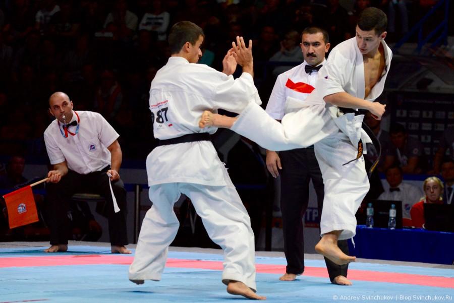 Чемпионат мира по киокусинкай карате. Финал. Мужчины. Часть первая