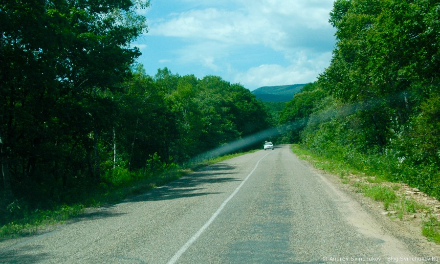 Вновь фотографии с дорог Приморского края