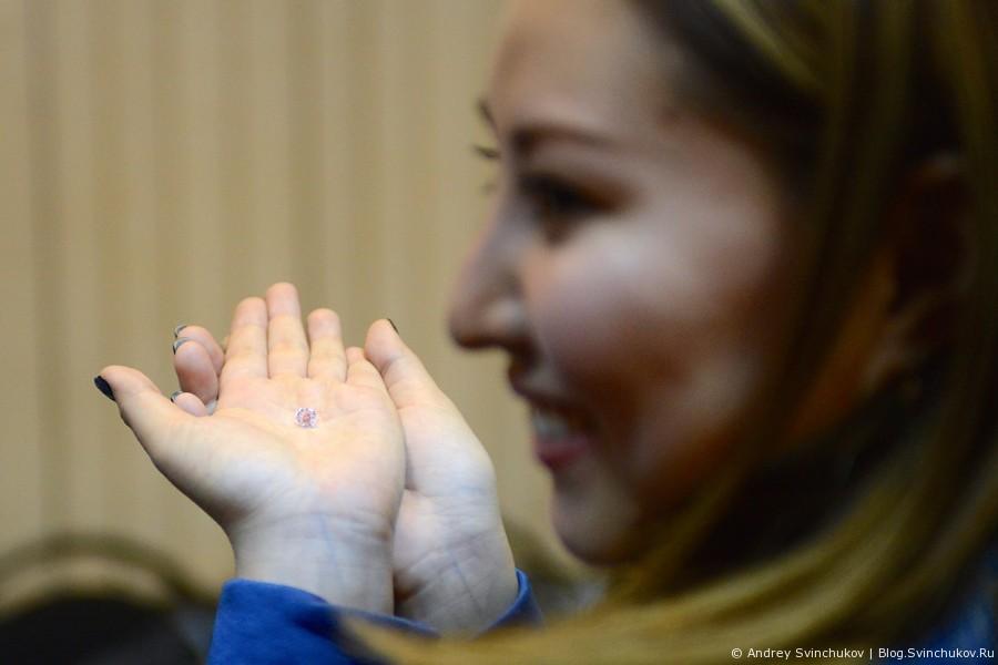 Гранение алмазов в Якутии