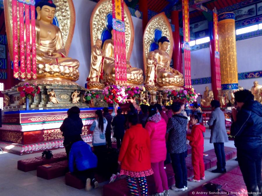 Буддийский храм в Фуюане