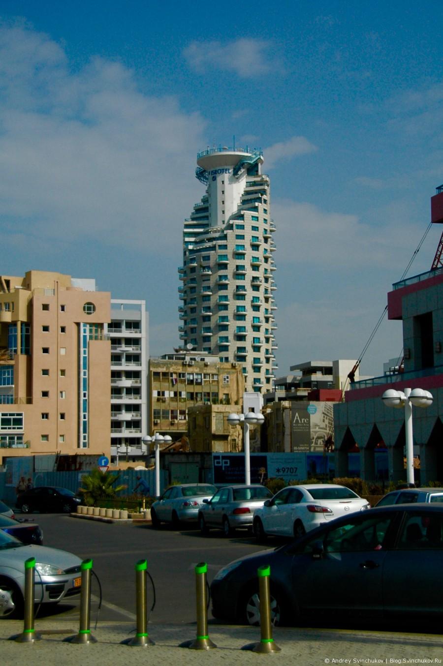 Тель-Авив вертикальный