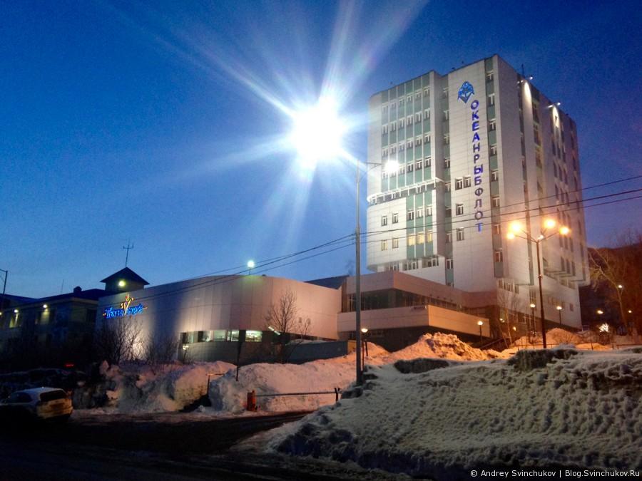 Заснеженный Петропавловск-Камчатский