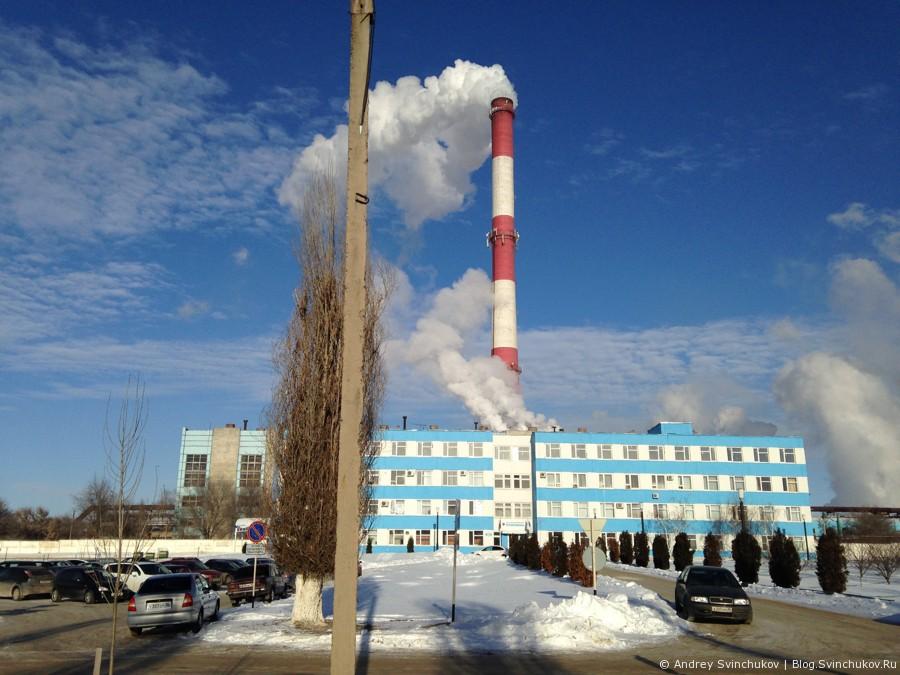 Завод минеральных удобрений в городе Россошь