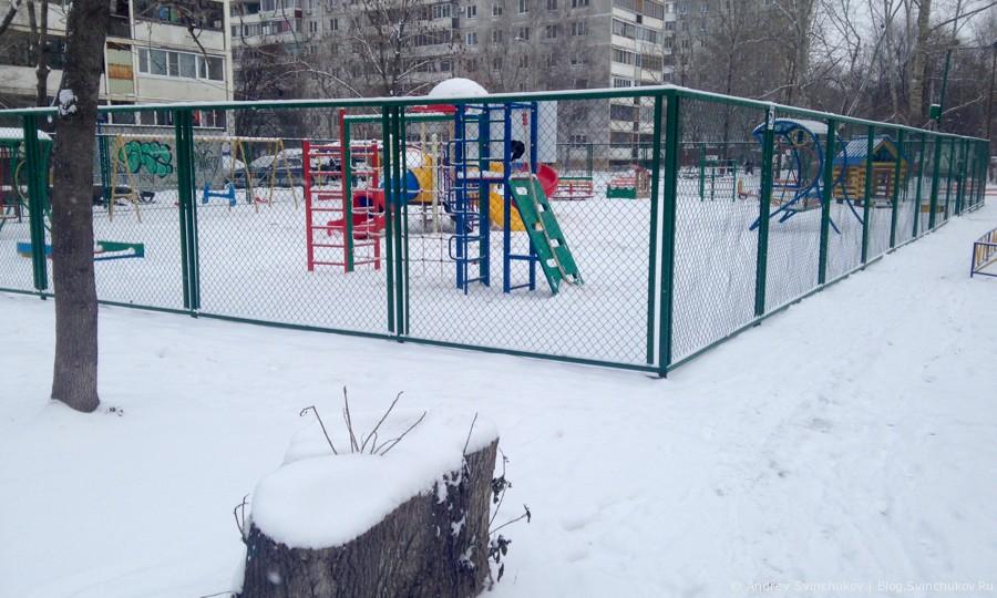 Район 68-й школы в Хабаровске. Часть первая