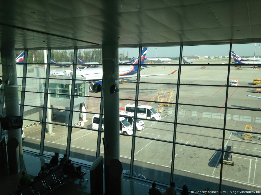 Про рядовой полет с Аэрофлотом
