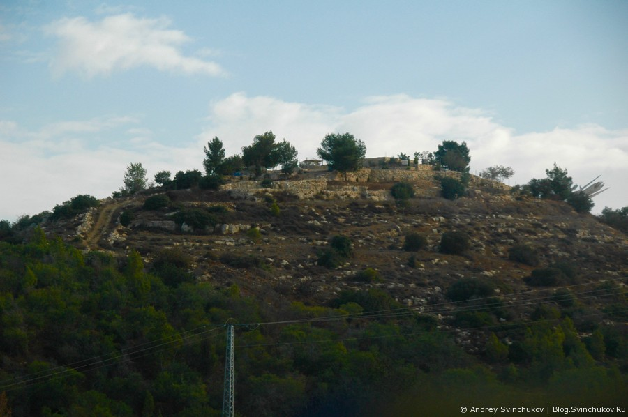 Фотографии с дорог Израиля