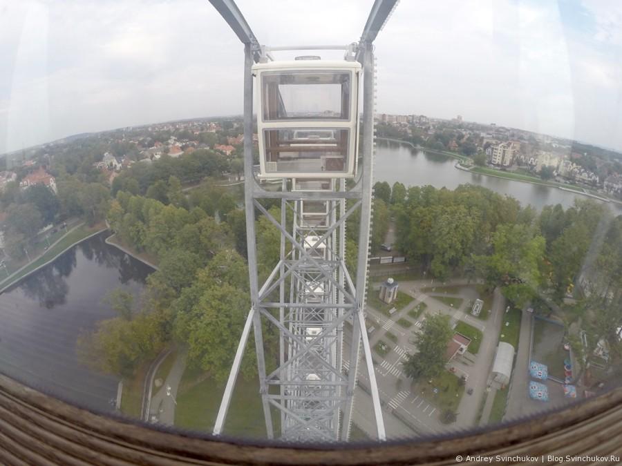 Калининград с колеса обозрения