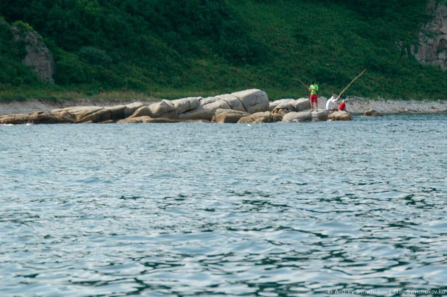 Японское море и рыбалка