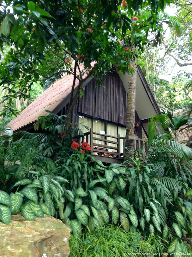 Бунгало на острове Ко-Чанг в Таиланде