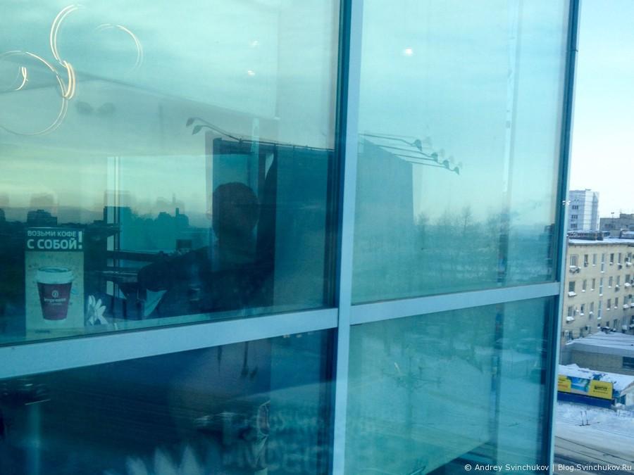 """Кафе """"За стеклом"""" в Хабаровске"""