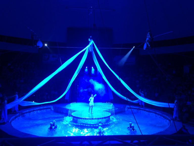 Цирк на воде хабаровск