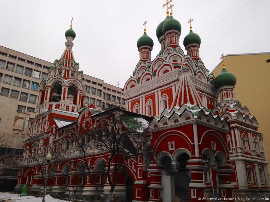 Москва в феврале 2014-го