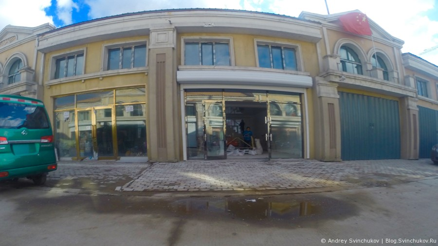 Новая торговая улица в Фуюане