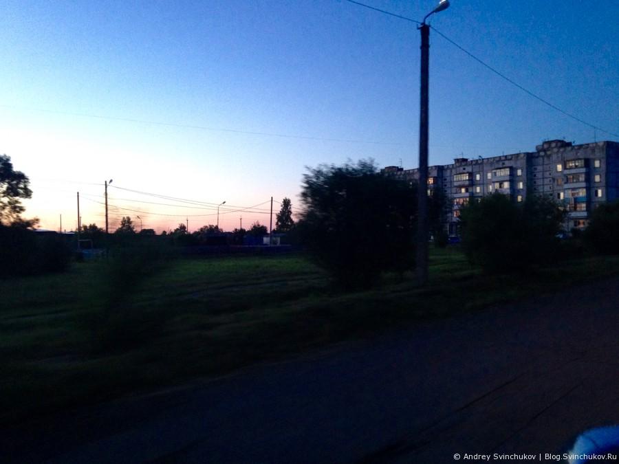 Посёлок Галкино в Хабаровском крае