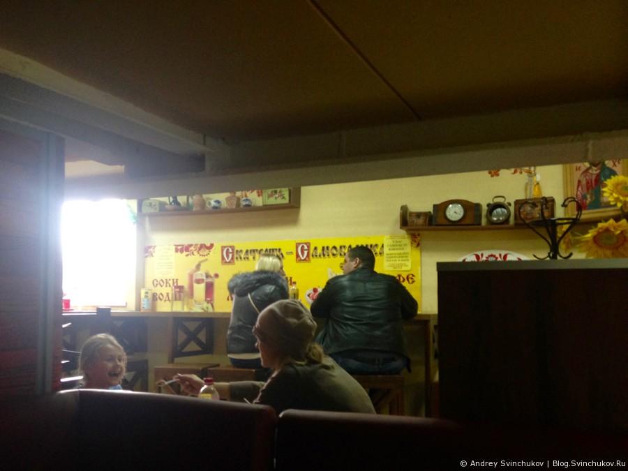 """Кафе """"Скатерть самобранка"""" в одном из торговых центров Хабаровска"""