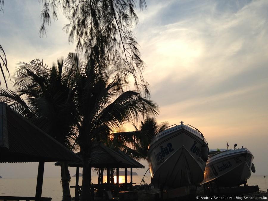 Прогулка по острову Ко-Чангу в Таиланде